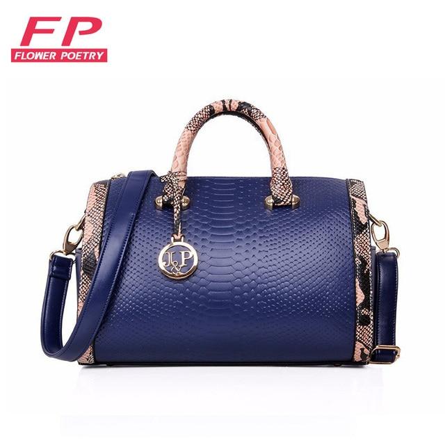 41b462261 Bolsos Mujer Moda Serpentina Bolsas De Couro Bolsas de Marcas Famosas  Mulheres Sacos Senhoras Ombro Sacola