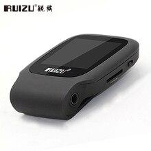 Mini Sport MP3 Player 4 GB de Memoria RUIZU X09 Correr Walkman Soporte Grabación de Tarjeta TF Reproductor de Música Con 1.5 pulgadas de Pantalla E-Book FM