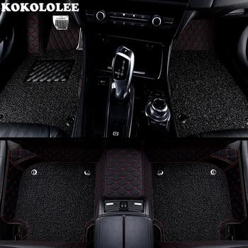 KOKOLOLEE Custom car floor mats for Dodge all models Dodge ram 1500 Journey 2009-2017 Challenger car mats Auto accessories