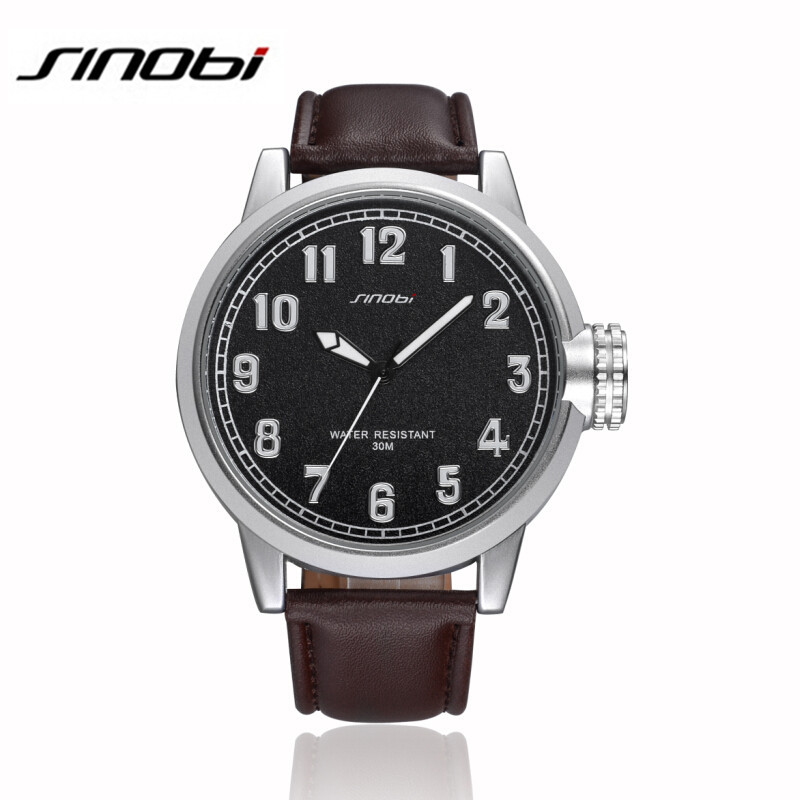 acf11c329 SINOBI Men Business Watch Relogio Masculino Relojes Hombre Marca Famosa  Waches Men Famous Brand Watch Man