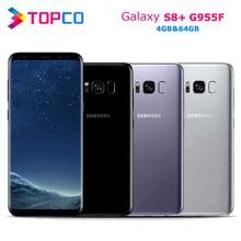 Samsung Galaxy S8 + S8 Plus Ursprüngliche Globale Version G955F 4G Android Telefon Exynos Octa Core 6.2