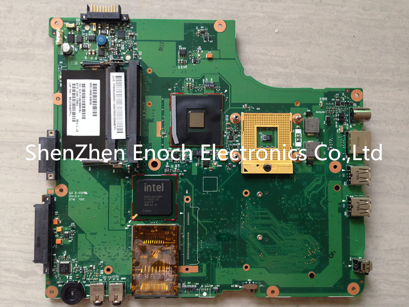 ФОТО For Toshiba satellite A200 A205 integrated 945GM laptop motherboard,100%Tested 6050A2120801-MB-A02 60 days warranty