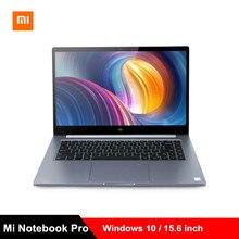 Xiaomi mi Тетрадь Pro mi ноутбука 15,6 дюйма Win10 Intel Core i7-8550U/i5-8250U NVIDIA GeForce MX150 16 GB Оперативная память 256 GB SSD ПК