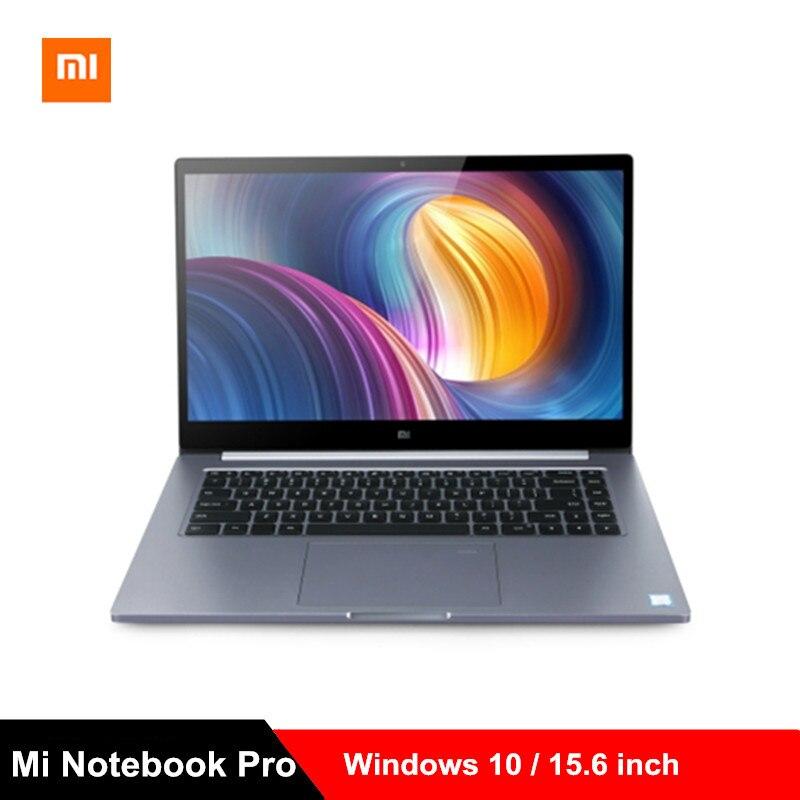 Xiaomi mi Тетрадь Pro mi ноутбука 15,6 дюйма Win10 Intel Core i7 8550U/i5 8250U NVIDIA GeForce MX150 16 GB Оперативная память 256 GB SSD ПК