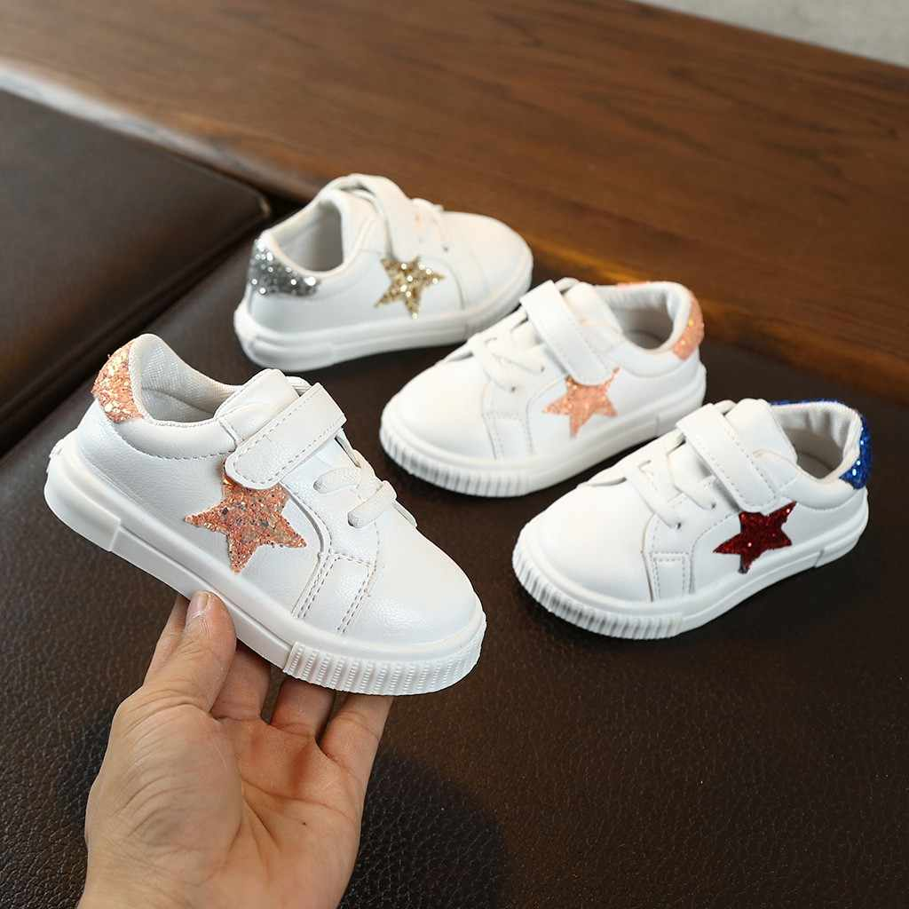 Toddler Children Boys Kids Shoes For Girl Boys Baby Girl Kids Sneakers Casual School Flat Hook Loop Shoes Kids Trainers 2019