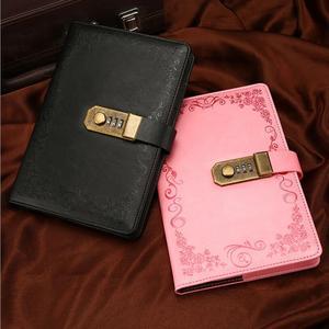 Image 3 - A5 notatnik pamiętnik z zamkiem szkoła Vintage zamykany papier PU skórzany zeszyt dziennik podróżnika terminarz tygodniowy prezent papierniczy