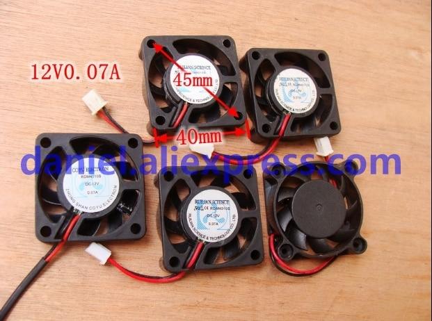 RDM4010S 12V 0.07A 4CM 4010 Supersilent Central Processor North-South Bridge/Graphics Card Cooling Fan