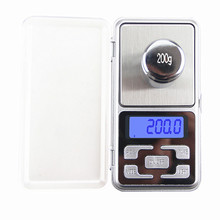 500g*0.1g Mini Digital Pocket Scale Tea Libra Jewelry Kitchen Weight Electronic LCD Display Gold Scale 0.1g Precision Balance