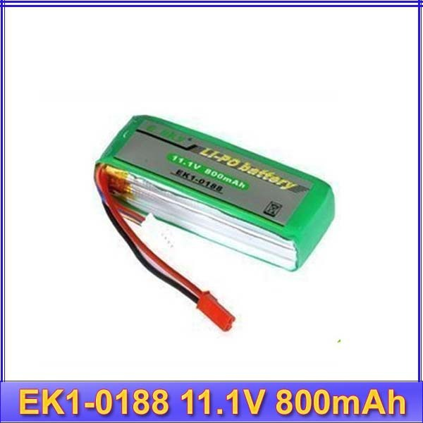 EK1-0188 11.1V 800mAh 20C Battery for Rc big lama battery RC helicopter   free shipping