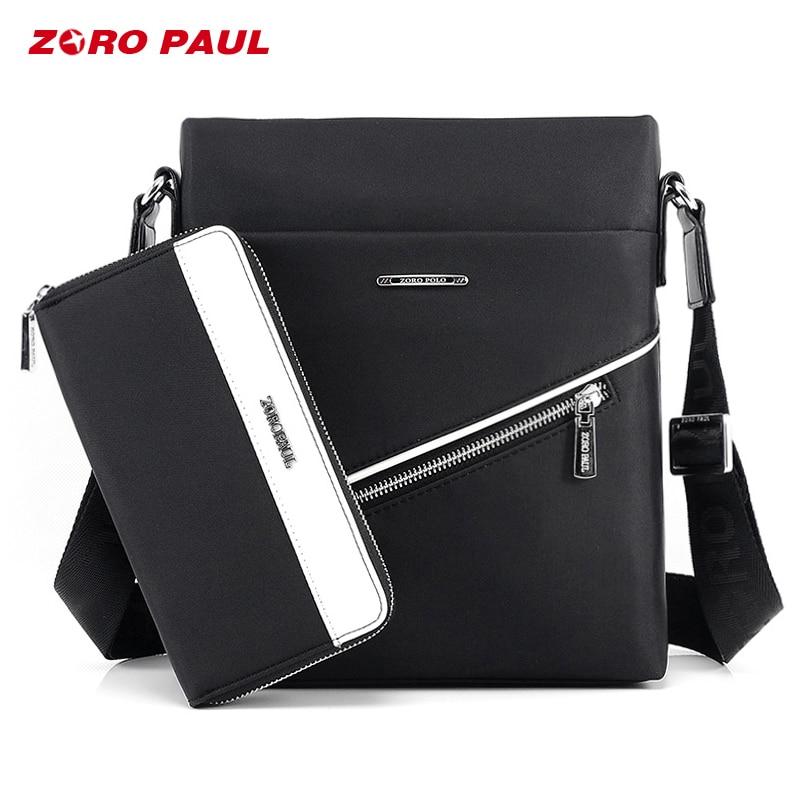 ZORO PAUL Casual Office Bags for Men <font><b>Oxford</b></font> Designer <font><b>Handbags</b></font> Men's Messenger Bags Male Black Crossbody Fashion Shoulder Man Bag