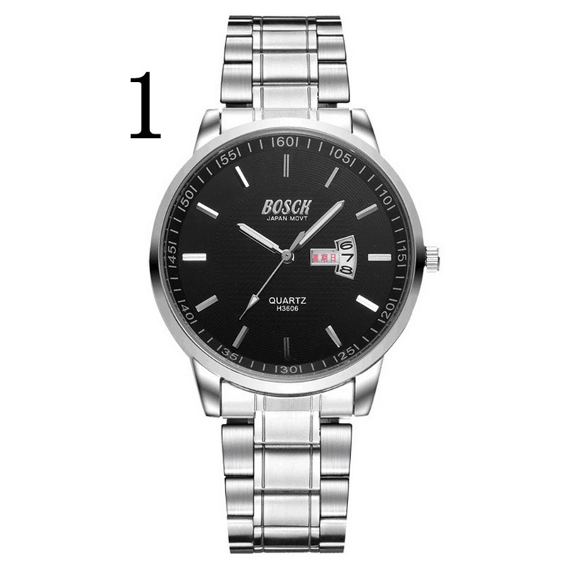 Mens new fashion stainless steel with simple leisure luxury business watch.78Mens new fashion stainless steel with simple leisure luxury business watch.78