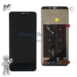 Image 2 - Pantalla LCD completa de 5,99 pulgadas para Xiaomi Redmi 5 Plus montaje de digitalizador con pantalla táctil y cubierta de marco para Redmi 5 Plus MEG7