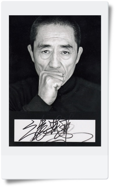 signed Zhang Yimou autographed  original photo 7  inches freeshipping  China's director  082017 signed mayday ashin autographed original photo 7 inches freeshipping 082017