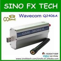 wholesale support voice sms GPRS/GSM industrial alarm system WAVECOM Q2406A/B MODEM