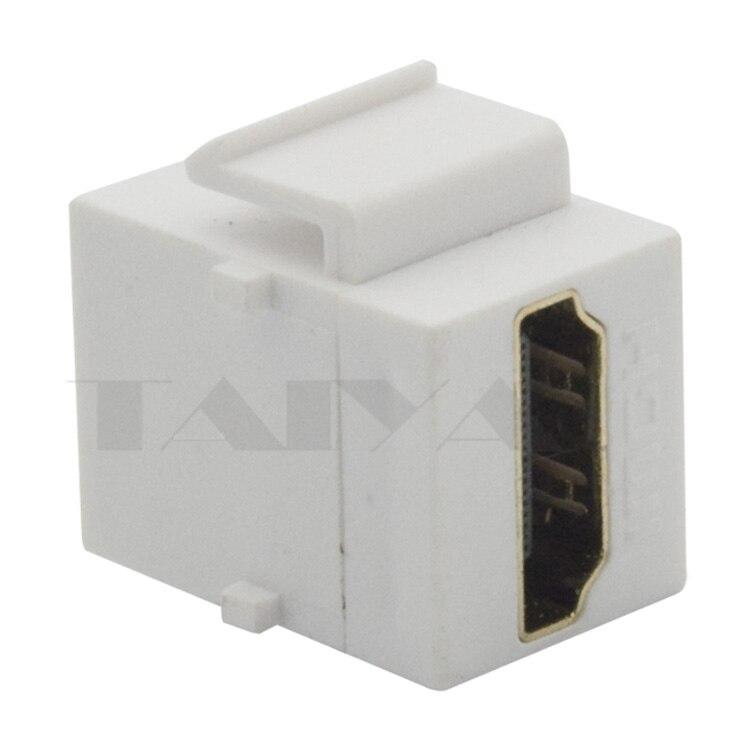 Keystone HDMI connector met zeer korte body lengte