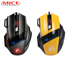 Professional USB Wired Gaming Mouse 7 Buttons 3200DPI LED Optical Game Mouse Mice for PC Laptop Ergonomics Computer Mouse Gamer