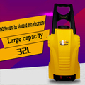 Nova Bateria De Lítio Portátil de Alta-pressão Máquina de Lavar Portátil plug-in Da Bomba de lavagem de carro máquina de Limpeza de Carro Elétrico