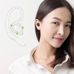 Image 3 - JQAIQ Ultra Mini Wireless Bluetooth Auricolare Stereo Auricolare Più Piccolo Sport Invisibile Auto In Ear Auricolari Con Il Mic Per Smartphone