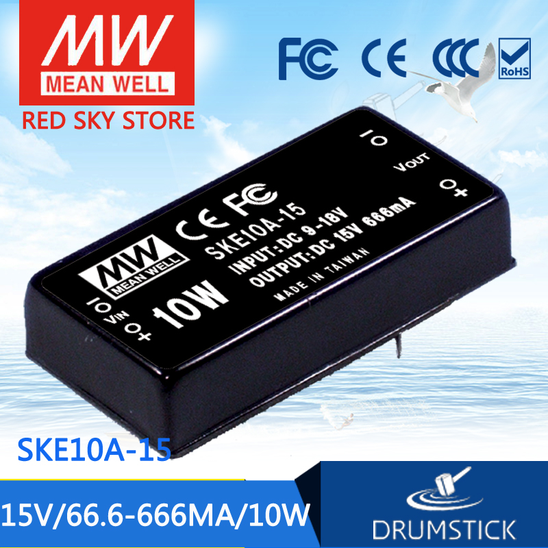 Advantages MEAN WELL SKE10A-15 15V 666mA meanwell SKE10 15V 10W DC-DC Regulated Single Output Converter advantages mean well skm30c 15 15v 2a meanwell skm30 15v 30w dc dc regulated single output converter