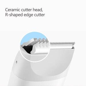 Image 4 - Xiaomi Mitu электрический триммер для волос профессиональный Мужской Борода Машинка для стрижки волос Бритва USB перезаряжаемая Беспроводная Машинка для стрижки волос