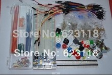 generic components package deal For Arduino package + three.3V/5V energy module+MB-102 830 factors Breadboard +65 Versatile cables+ jumper wire field