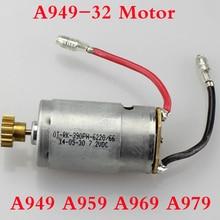 Original Wltoys motor for WLtoys A949 A959 A969 A979 1:18 4WD RC Car Spare Parts