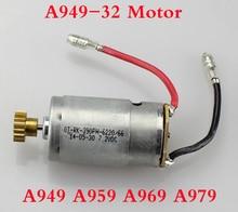 Original  Wltoys motor for WLtoys A949 A959 A969 A979 1:18 4WD RC Car Spare Parts 390 Motor A949-32