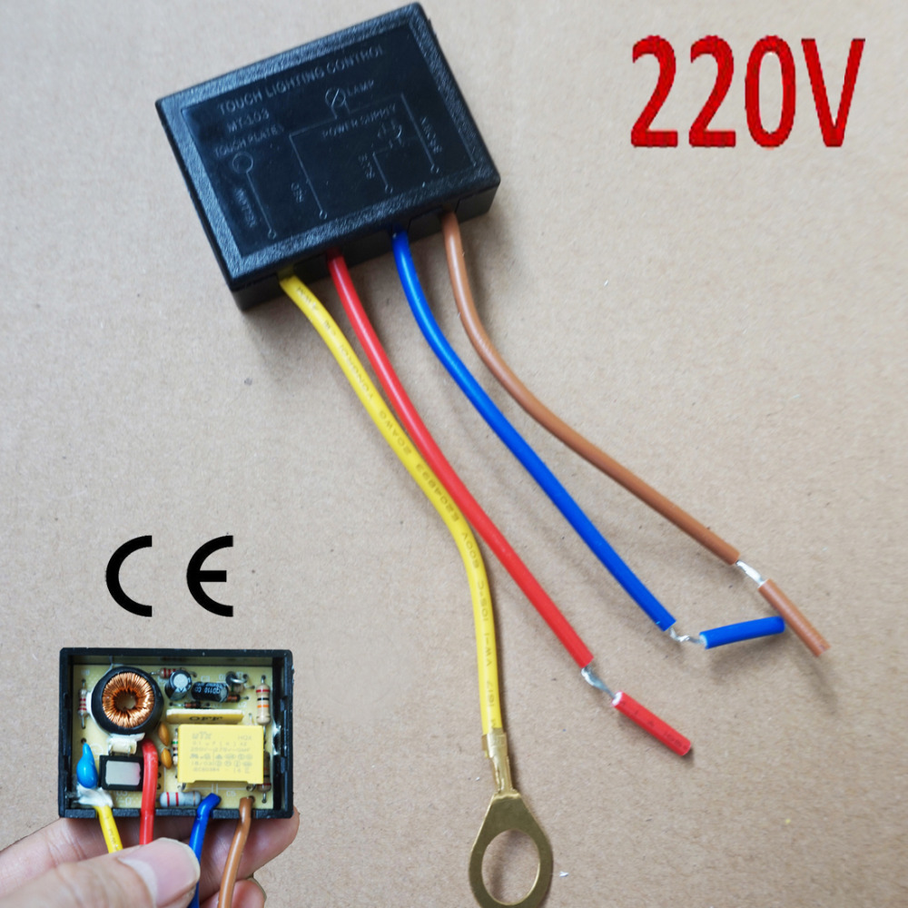 Us 4 39 12 Off 220 V Touch Lighting Control Sensor Lamp Switch Dimmer Halogen Tungsten Led 150w In Tool Parts From Tools On Aliexpress Alibaba