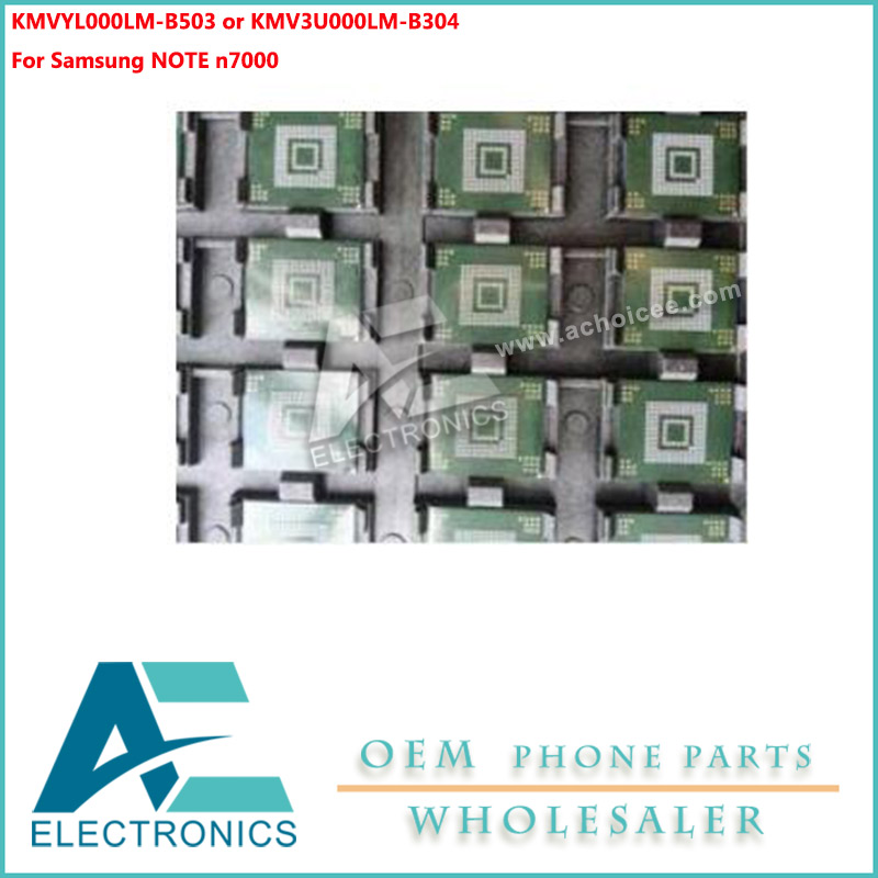 US $9 0 |For Samsung NOTE N7000 EMMC IC CHIP memory flash NAND with  firmware on motherboard mainboard Circuits-in Mobile Phone Circuits from