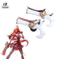 ROLECOS Miss Fortune Guns LOL Star Guardian Cosplay The Bounty Hunter Cosplay Costume Props Game LOL Weapons
