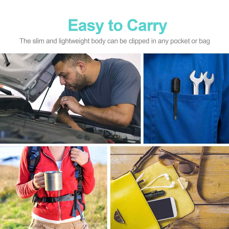 Mini Linterna LM Linterna pequeña impermeable Linterna de bolsillo Linterna para Reparación de automóviles de trabajo profesional
