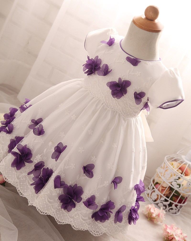 Flower Dress for Baby Girl (2)