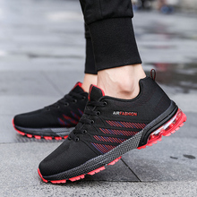 2018 Men Shoes Summer Casual Shoes Breathable High Quality Casual Shoes Fashion black Lace up Mens Mesh Flats Shoe   5 цены онлайн