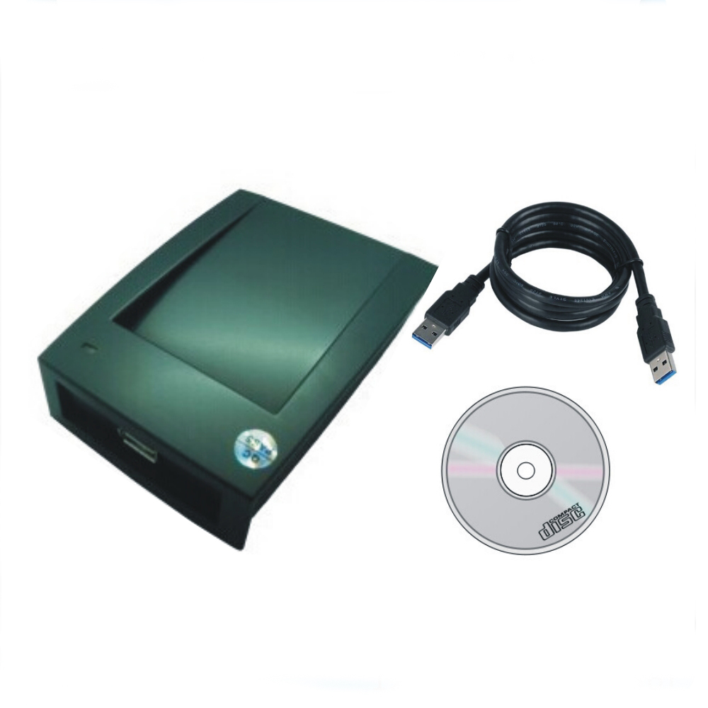 The most simple T5577/ EM4305 125KHZ  card copier/ Duplication USB port Avoid driving English software+10 pcs cards