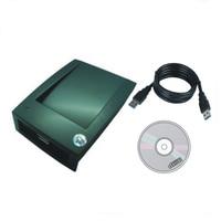 The most simple T5577/ EM4305 125KHZ card copier/ Duplication USB port Avoid driving English software+5 pcs cards