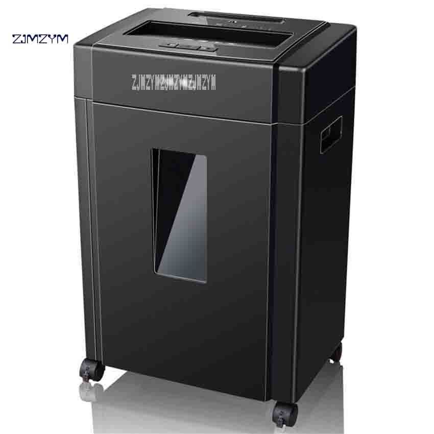 Multifunctional Office Shredder Professional Paper Shredder 33043 Can be Broken CD Card Granular 220V 240W 20L 2M / MIN Hot Sale
