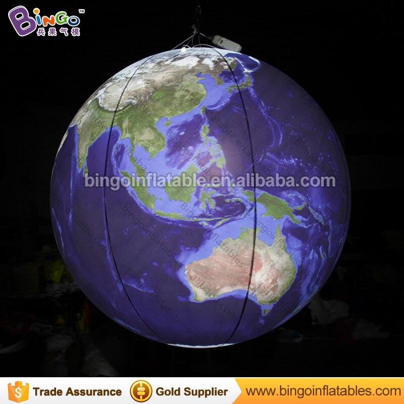 Aangepaste grootte aarde globe replica, giant opblaasbare aarde ...