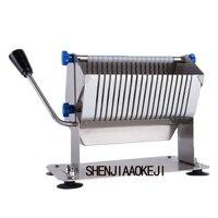 HSS-8 دليل السجق slicer المطبخ أداة الفولاذ المقاوم للصدأ السجق آلة قطع متعددة الوظائف slicer السجق القاطع 1 قطعة