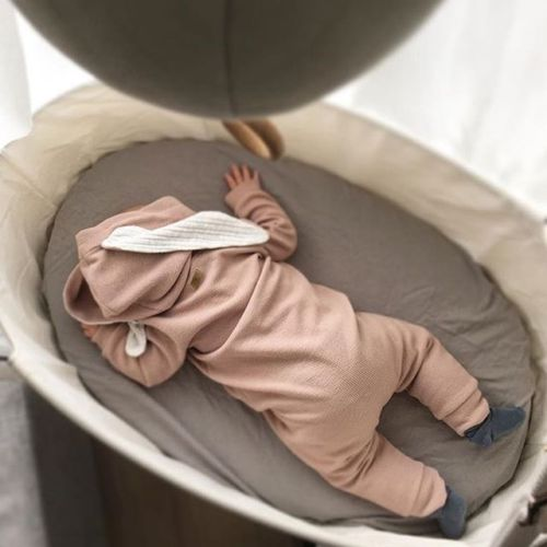 7e2579b4131d Товар Adorable Newborn Baby Infant Boy Girl Romper Hooded Jumpsuit ...