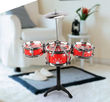 цена на Kids Classical Jazz Drum Set Percussion Instrument Musical Toy Puzzle Early Educational Toys for Children JUGUETES Best Gifts