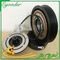 AC A/C Air Conditoning Compressor Magnetic Electromagnetic Clutch PV6 for CHRYSLER VOYAGER DODGE CARAVAN 2.4L L4 447220 3445