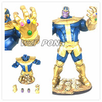 New 33cm Avengers Thanos Large Size Toy PVC Resin Infinity War Thanos action figure Model Brinquedos Collection kids Toys Gift