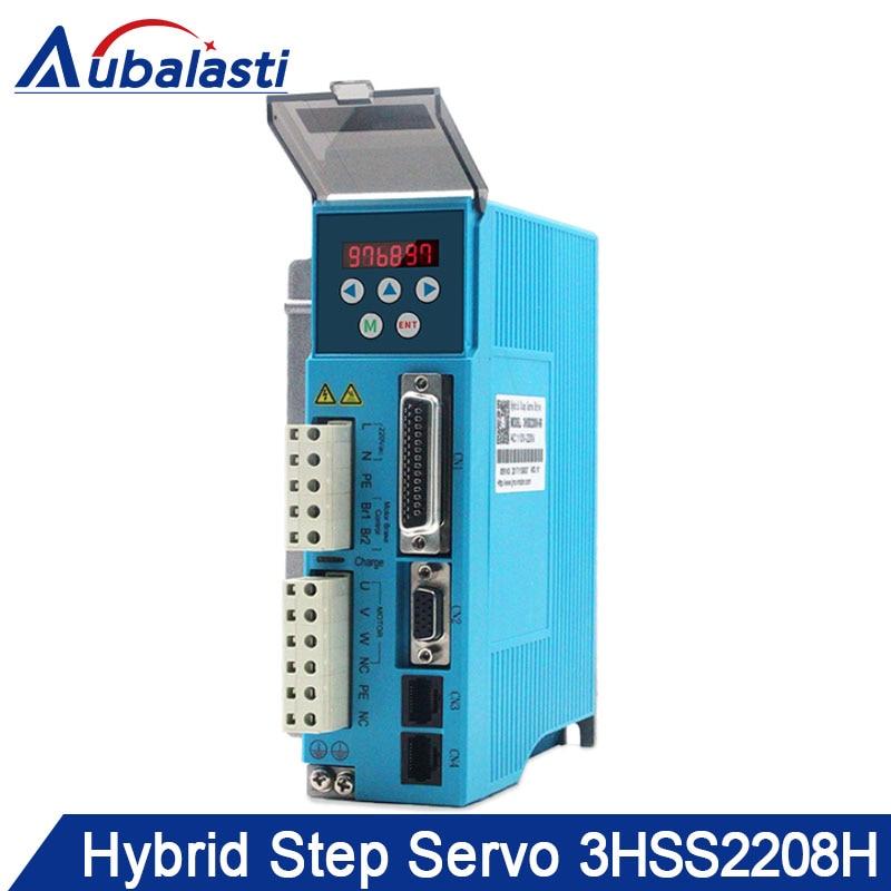 Hybrid step servo motor drver 3HSS2208H input voltage AC180 250V match With 86 110 130 serial
