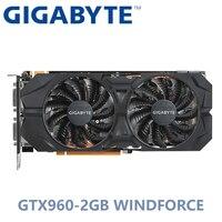 Используется графическая Видеокарта GIGABYTE NVIDIA GPU GTX 960 2G Winforce PowerConn 2 * 6pin двойной порт HDMI DVI поддержка LOL PUBG CSGO