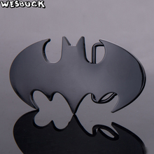 WesBuck Brand Retail New Oval 3D Super Hero Batman Belt Buckle Zinc Alloy Cowboy Head Man Woman Jeans Cosplay Accessories