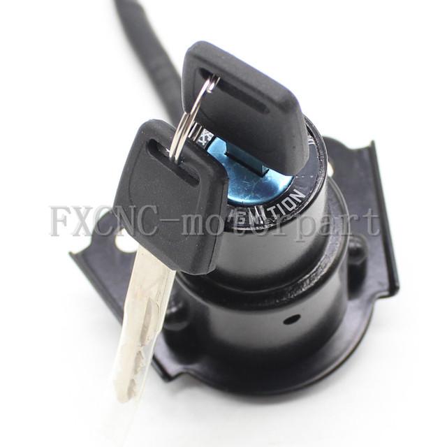 Interruptor de ignição conjunto de bloqueio 2 chaves mestras apto para yamaha xv250 2uj 250 3dm 1988-2011 (incluindo route 66) VIRAGO XXV240 250 3LS