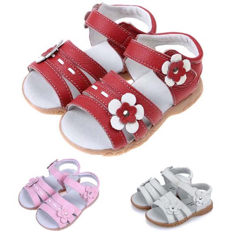 Sandalias para niños 2019 Verano de cuero genuino Sandalias de los - Zapatos de niños - foto 2