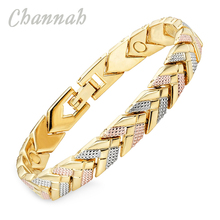 Channah 2017 Bracelet For Women 3-Tone Color Bracelet Magnetic Arrow Bangle Fashion Ladies Jewelry Gift Charm
