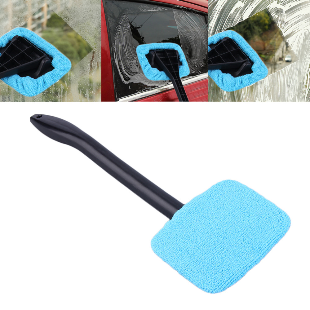 2017 Portable Plastic Windshield Easy Cleaner Easy-microfiber Clean Window On Your Car Or Home Washable Fast Easy Shine Handy