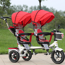 Free shipping to Russia upgrade luxury models 2018 twins baby stroller summer winter Baby carriages 6months